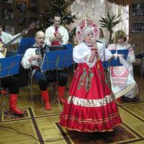 Різдвяний концерт з юною солісткою нашого оркестру