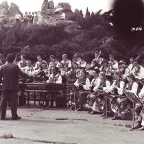 Оркестр 1979 року. Диригент - Віталій Скакун