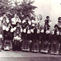 Ансамбль зозульок - 1986 рік.