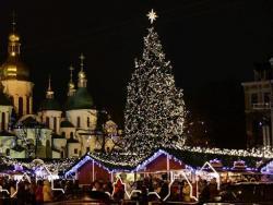Новий рік на Софійській площі 2018