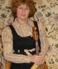 Ірина Гончарова (кобза), заслужена артистка України