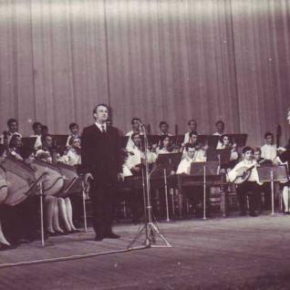 На концерті в 70ті