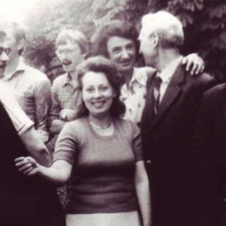 Наші артисти: П.Чухрай, М.Попілевич, В.Петренко, С.Биба, В.Бойченко, 1984 рік