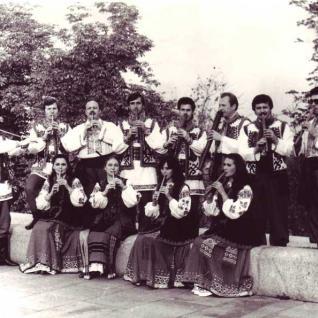 Ансамбль сопілкарів - 1986 рік.